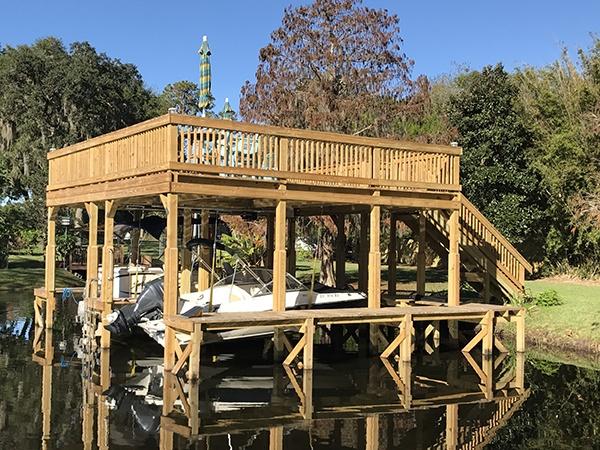 dock refinishing florida